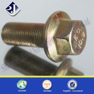 Multi-Tooling Hex Flange Bolt with Grade10.9 pictures & photos