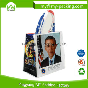 Promotion OPP Laminated Nonwoven Bags for Shopping pictures & photos