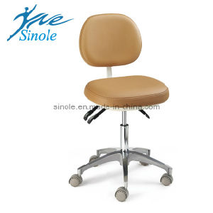 Dental Stool Leather Dental Stool (08023) HS6 pictures & photos