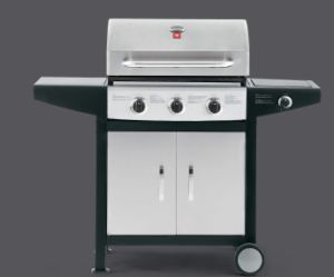 New Design Cheap Outdoor 3 Burner Gas BBQ Grill pictures & photos