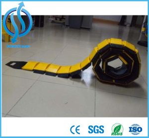 Hotsale Good Quality Yellow (black) Portable One Way Speed Hump pictures & photos