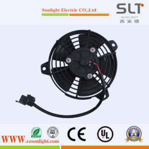 24V 5inch Mini Electric Condenser DC Axial Fan pictures & photos
