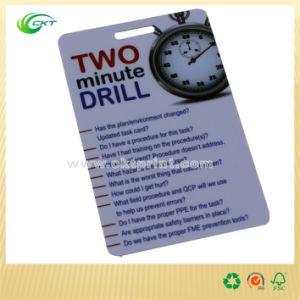 Slot Punching PVC Card, RFID Card, Membership Card Printing (CKT-PC-747)