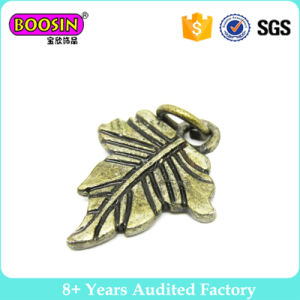 Antique Bronze Leaf Pendants Charms for Necklace pictures & photos
