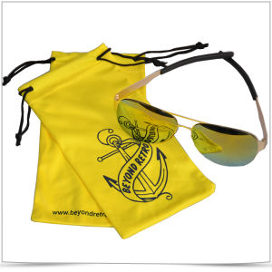Silk Screen Printing Microfiber Eyeglasses Pouch pictures & photos