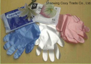 Disposable OEM Color HDPE Gloves Plastic Glove pictures & photos