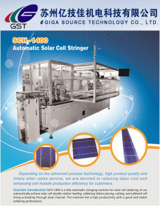 Sch-1400 High Quality Full Automatic Solar Cell Stringer