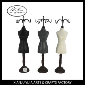 Wooden Painting Fashion Mannequin Stand for Necklace Display pictures & photos