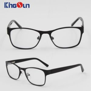 Kids Fashion Metal Frame with Acetate Temple Optical pictures & photos