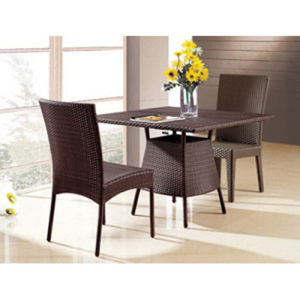 Aluminum PE Wicker Dining Set (DS-06019) pictures & photos