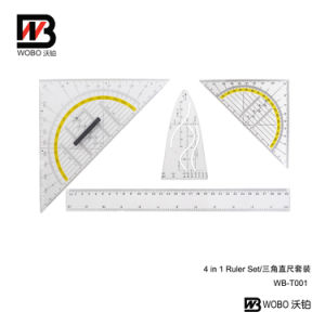 2016 Plastic Ruler School and Office Stationery Set pictures & photos