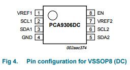 Voltage-Level Translator IC PCA9306DC New and Original pictures & photos