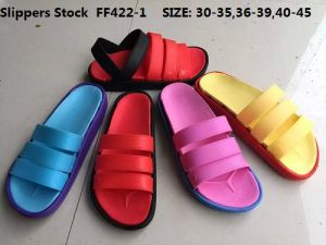 Cheap High Quality EVA Slippers Shoes Sandals Stock (FF422-1) pictures & photos