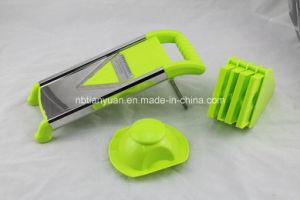 Hot Selling Plastic Hand V-Blade Mandolin Slicer/Vegetable Slicer pictures & photos