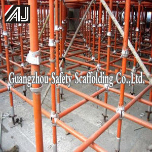 Galvanized Steel Cuplock Scaffold for Building Construction (Guangzhou Manufacturer) pictures & photos