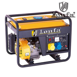 Portable 6kw Open Type Three Phase Honda Gasoline Generator pictures & photos