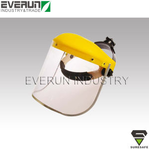 CE EN166 Chemical Protective PC or PVC Face Shield pictures & photos