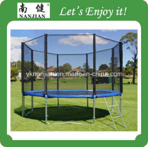 GS TUV Fitness Bungee Trampoline for Sale with Safety Net pictures & photos