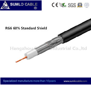 RG6 Standard 60% Shield Coaxial Cable (F660BV) pictures & photos