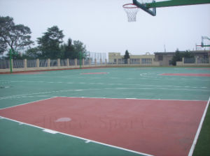 Polyurethane Liquid Itf Standard Tennis Court Floor pictures & photos