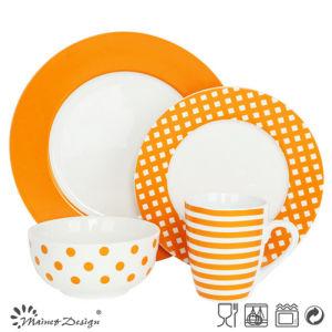 16PCS Porcelain Ceramic Dinner Set Manufacture pictures & photos