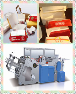 Automatic Paper Lunch Box Forming Machine pictures & photos