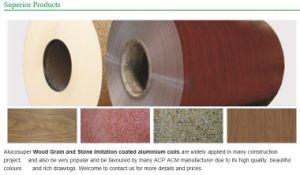 PE PVDF Coated Wood Grain Stone Aluminum Coils pictures & photos
