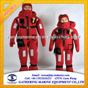 Three Fingers Insulated Immersion and Thermal Protective Suits Immersion Suit pictures & photos