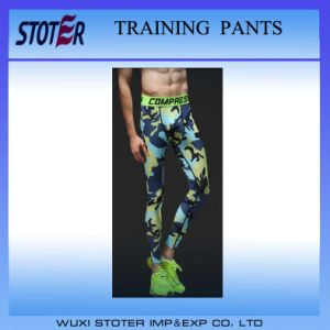 Sports Tight Trousers Basketball Football Running Compression Pants pictures & photos