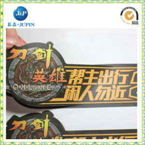 Best Price for Custom Die Cut Logo Plastic Label (JP-s008) pictures & photos