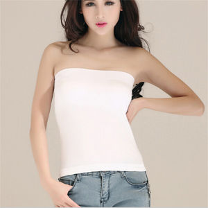 Simplicity Women′s Strapless Bust Clubwear Party Long Tube Top pictures & photos