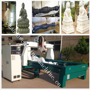 Mould Maker CNC Router Tool Changer / 4 Axis 3D CNC Milling Machine pictures & photos