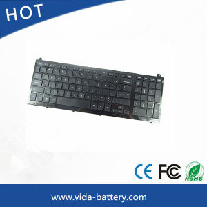 Computer Keyboard Notebook Keyboard for HP 4520s 4520 Us Layout Black pictures & photos