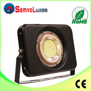 50W LED Flood Light with CE and RoHS Certification_Free Rotation 360