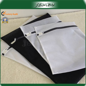 Reusable Promotion Cheap Mesh Laundry Bag with Zipper pictures & photos