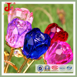 Crystal Glass Rose Flower Wedding Table Decorations (JD-CF-100) pictures & photos