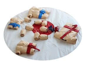Adults Kids Padded Sumo Suits Set Chsp493 pictures & photos