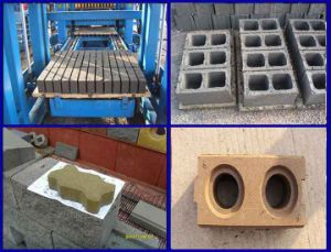 Qtj4-26 Interlocking Hollow Block Making Machine pictures & photos