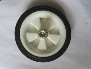 5 Inches Black White Wheel for Air Compressor