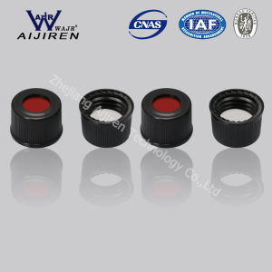 PTFE Silicone Line and Black Top Cap for 2ml HPLC Vial pictures & photos