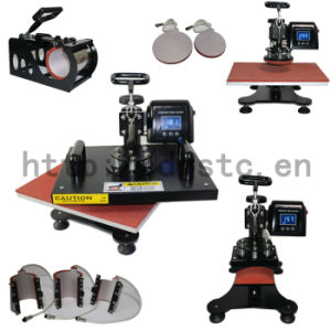 Ce Approved Multifunctional 8 in 1 Combo Heat Press, Heat Transfer pictures & photos