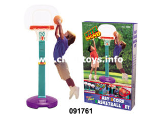 Children Standing Basketball Board with Basketball, Hand Pumps, Screwdriver (091761) pictures & photos