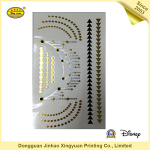 Flash Gold Temporary Tattoo for Body (JHXY-TT0011)