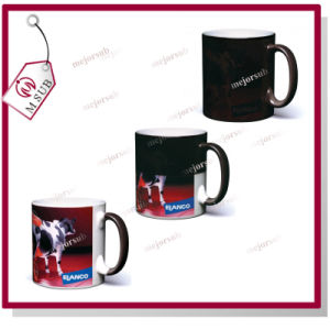 Top Glossy! 12oz Magic Color-Changing Mugs with Sublimation pictures & photos