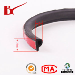 P Shape 3m Adhesive Rubber Seal Strip pictures & photos