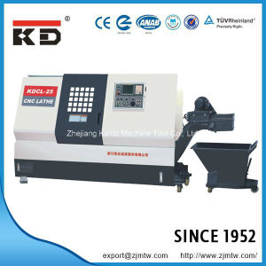 High Precision Full Functional Turning Center CNC Lathe Kdcl-25 pictures & photos