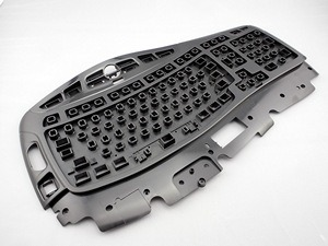 Computer Accessories Plastic Injection Molding for Keyboard Upper Case pictures & photos