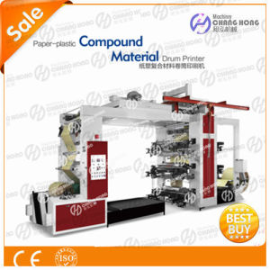 Flexo Paper-Plastic Compound Material Drum Printer pictures & photos