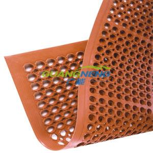 Anti-Slip Kitchen Mat Rubber Hotel Mat Oil Resistance Rubber Mat Anti-Fatigue Rubber Flooring pictures & photos