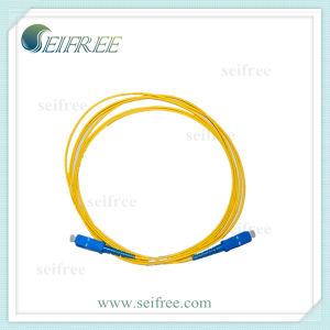 FTTH Sc Fibre Optics Cable Patchcord pictures & photos